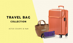 TRAVEL BAG COLLECTION -ACTUS COLOR'S & HeM-のセールをチェック