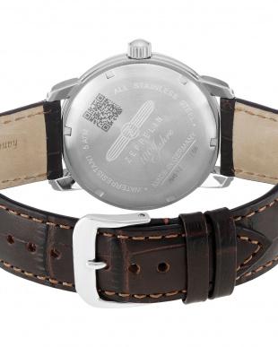 アイボリー  Special Edition 100 Years Zeppelin クォーツ腕時計見る
