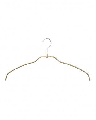 シャイニーゴールド  スリム型ブラウスハンガー12本 | MAWA見る