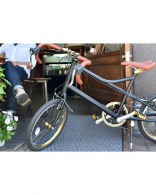 ブラック  ミニベロ自転車見る