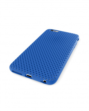 Blue  Mesh Case for iPhone 6見る