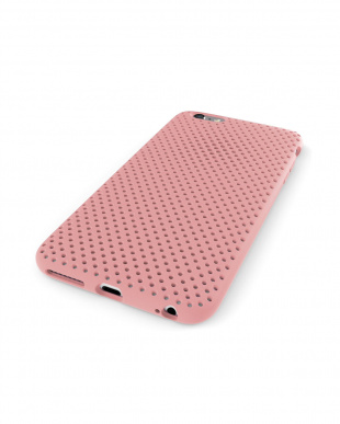 Pink  Mesh Case for iPhone 6見る