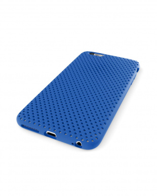 Blue  Mesh Case for iPhone 6 Plus見る