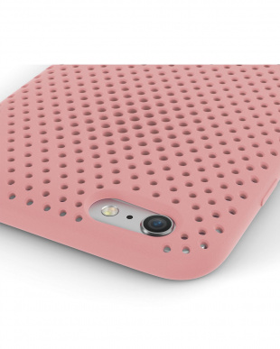 Pink  Mesh Case for iPhone 6 Plus見る