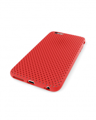 Red  Mesh Case for iPhone 6 Plus見る