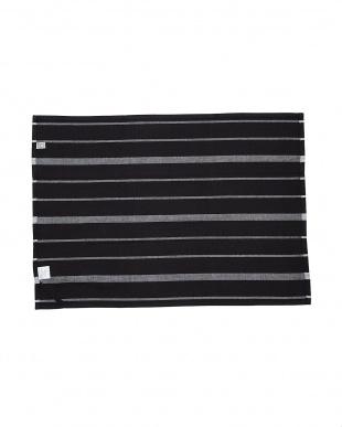 BLACK MID TEA TOWEL BLACK WASH見る