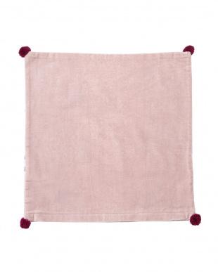 ピンク  ボタニカル クッションカバー(45×45cm)見る
