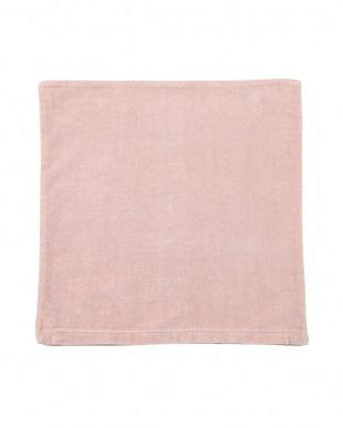 ピンク  ダーラナホース クッションカバー(45×45cm)見る