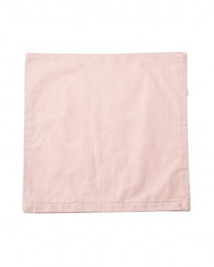 ピンク  ツリーシルエット クッションカバー(45×45cm)見る