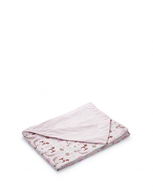 ピンク  掛布団カバーS ダーラナホース(150×210cm)見る