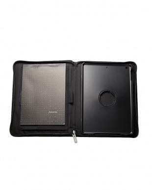 ブラック  マイクロファイバー iPad Airケース見る