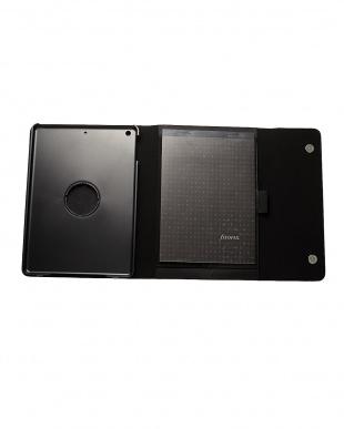 ブラック ナッパ iPad Airケース見る