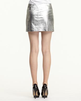 silver naluminium safaaスカート見る