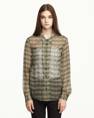 green iareal blendシャツ見る