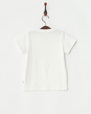オフホワイトロゴプリントTシャツ|Kids見る