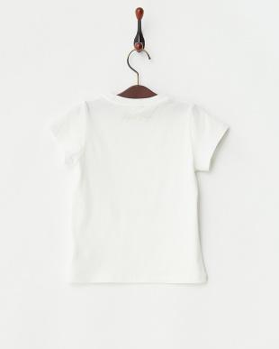 オフホワイト エンブレムロゴTシャツ|Kids見る
