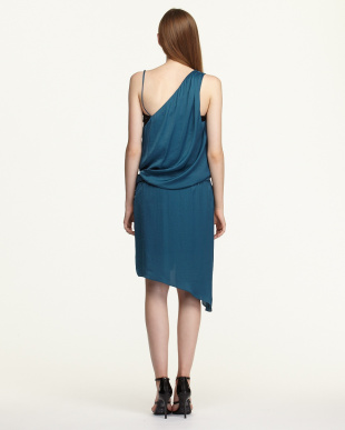 blue HELIOS PKT ベルテッドドレス見る