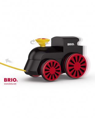 木製蒸気機関車(黒)見る