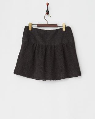 ブラック ELANEミニスカート見る