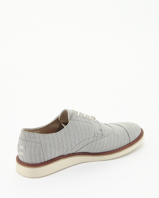 Vapor Grey Stripe  BROGUE Lace Ups見る