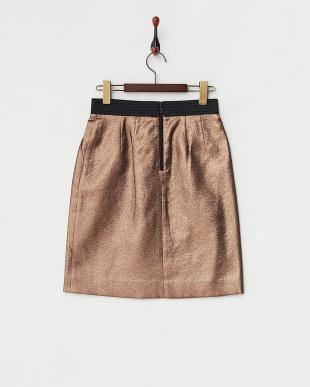 ブロンズ メタリックスカート見る