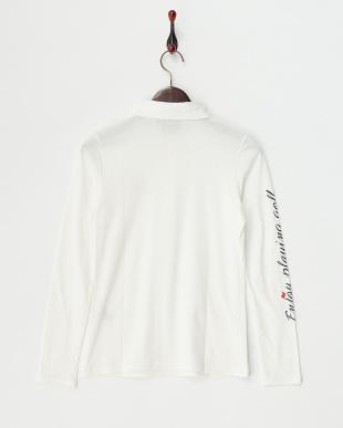 ホワイト  リップマーク インナーシャツ見る