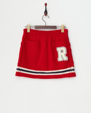 レッド  カレッジ カウチンスカート見る