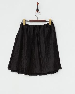 ブラック  シャイニーツイルスカート見る