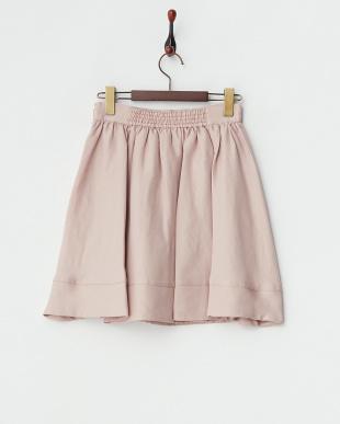 スモーキーピンク  ダブルクロススカート見る