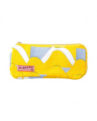 angelfish2 イエロー  メガネケースにも使える ペンケース見る