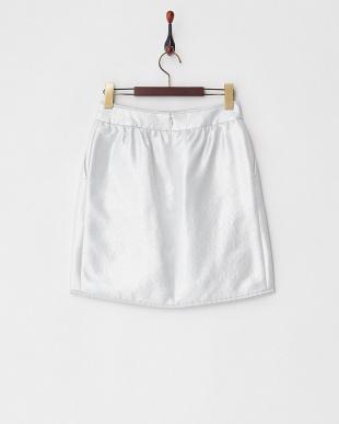 シルバー ラメスカート見る