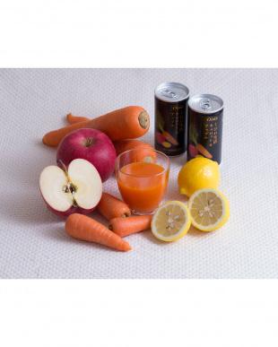 くびれ生活 キャロット&アップル190g 30缶セット見る
