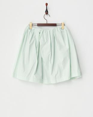 ライトグリーン  フレアースカート見る