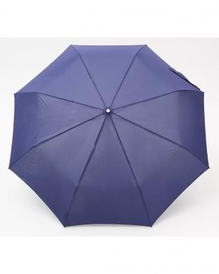 ネイビー  TITAN 70cm 3 sec AOC 自動開閉折りたたみ傘見る