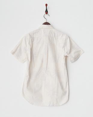 WHITE  MI.PINE LEAF シャツ見る