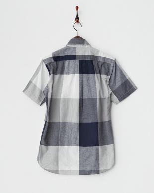 GREY×NAVY  SK.ビッグチェックシャツ見る