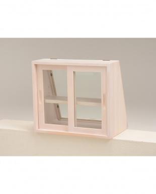 カウンター上ガラスケース 40×25×35cm見る