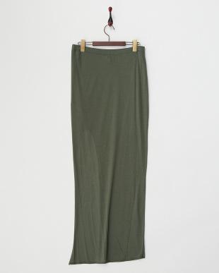 green  KINETIC ジャージー フィットスリットスカート見る