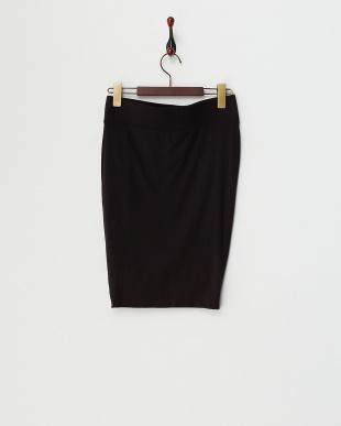 black  NOVA ジャージーツイストスカート見る