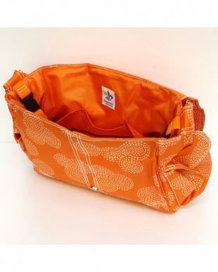 スティッチ オレンジ  バックルバッグ見る
