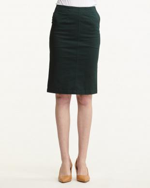グリーン  チノタイトスカート見る