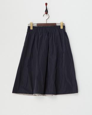 GREYストライプ  B:ボリュームリバーシブルスカート見る