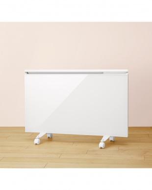 ホワイト  CAMPA ガラスパネルヒーター|ベルリス見る