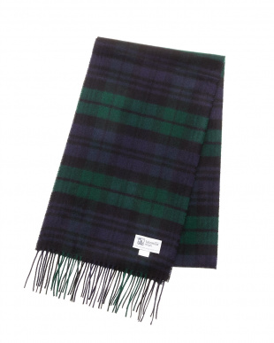 Black Watch  Cashmere Tartans マフラー見る