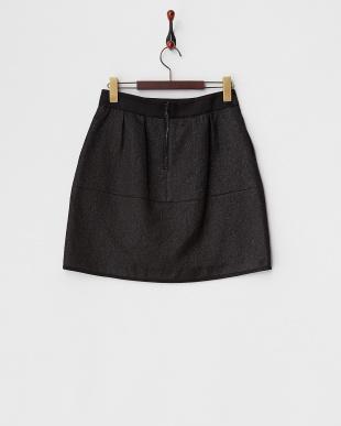 ブラック エストレマツイードスカート見る
