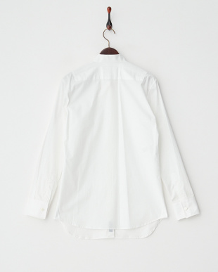 WHITE オックスフォード切り替えshirt見る