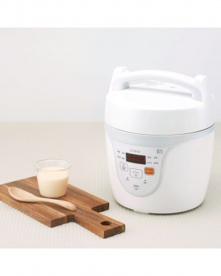 ホワイト  siroca マイコン電気圧力鍋クックマイスター見る