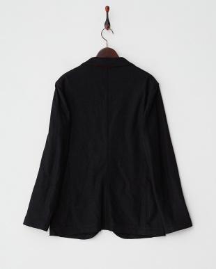 ブラック  ブークレー2Bカットジャケット見る