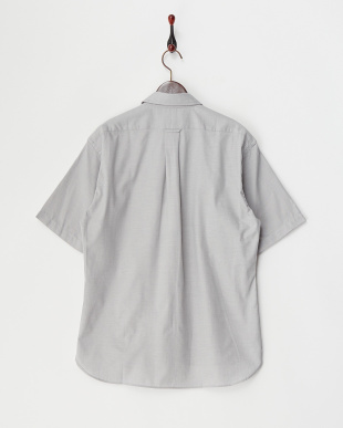 グレー  ライトオックス 半袖BDシャツ見る