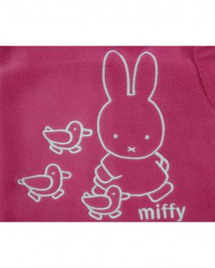 ピンク  着る毛布ベビーNuKME ブルーナ【miffy】│BABY見る
